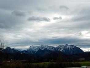 Photo: pogled sa autobahna A9 sa zapadne strane na Sengsengebirge