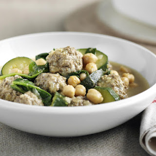 Curried Meatball Soup.
