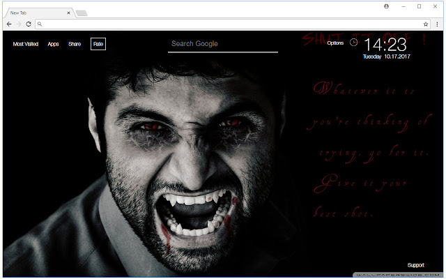 Vampire Wallpaper Vampires New Tab Themes