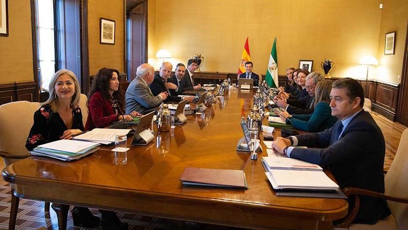 Imagen del Consejo de Gobierno. /Junta de Andalucía