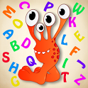 Happy Alphabet: learn English letters for your kid icon