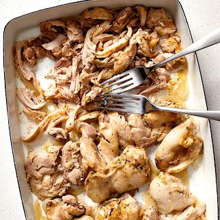 Easy Crispy Chicken Carnitas.