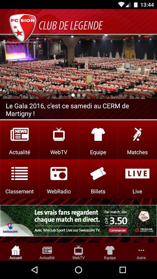 FC Sion- screenshot