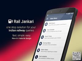 Screenshot of Rail Jankari : Indian Railways