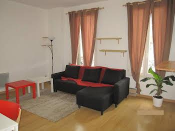 Appartement meublé 2 pièces 39,5 m2