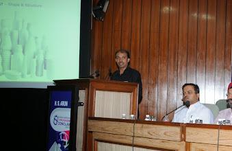 Photo: H. S. Arun, Senior Solutions Expert, Esko Graphics India (P) Ltd.