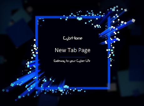 CybrHome New Tab Page