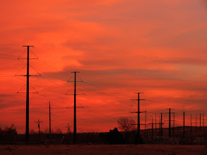 Photo: Power Painted Skies -- Fort Collins, Colorado