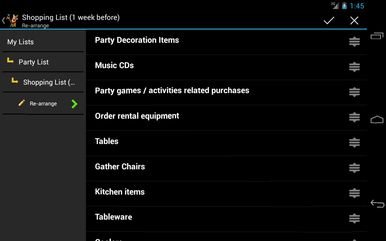 Party Planner - screenshot