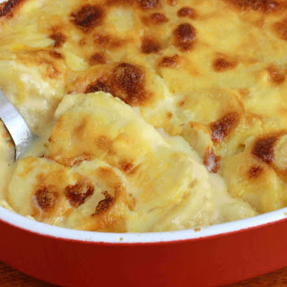 Perfectly Creamy Au Gratin Potatoes.