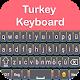 Easy Turkey English Keyboard With Emoji 2019