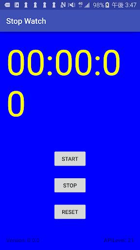 StopWatchSecond 0.0.5 Windows u7528 1