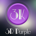 3K SR PURPLE - Icon Pack