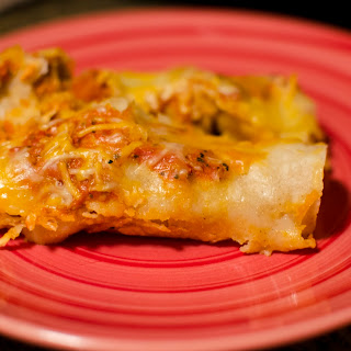 Chicken Enchiladas with Fresh Tomato Sauce