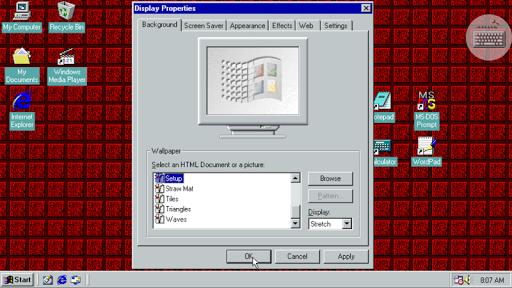 Win 98 Simulator  screenshots 15