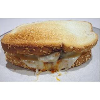 Hot Sausage Sandwich.