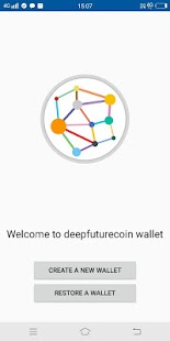 DFC Wallet Android - náhled