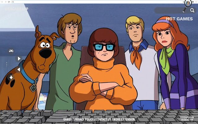 Scooby Doo HD Wallpapers New Tab