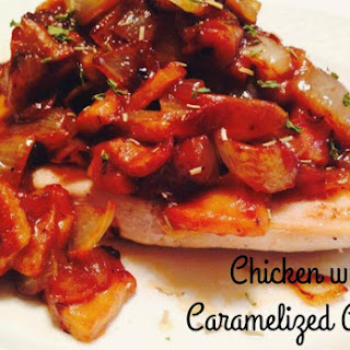 Chicken with Caramelized Apples