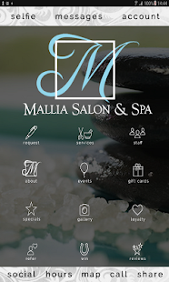 Mallia Salon and Spa- screenshot thumbnail