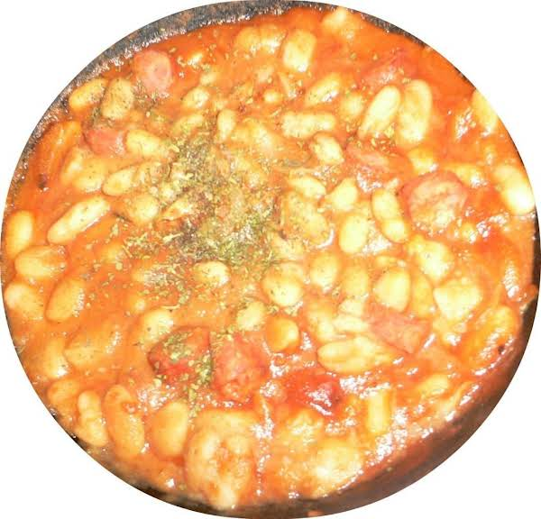 White Beans With Sausages