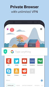 Aloha Browser Turbo – private browser + free VPN App Download For Android and iPhon 1