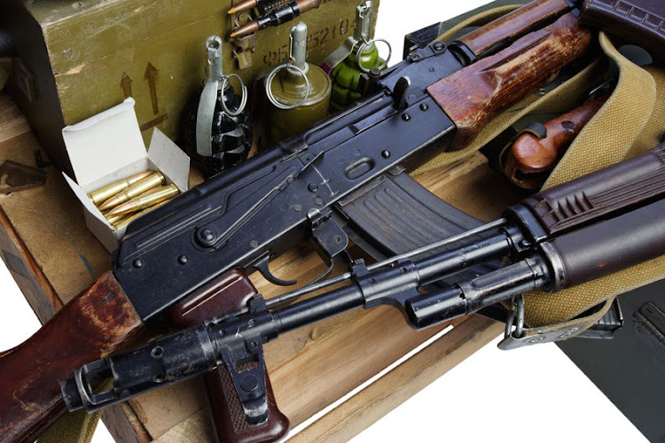 Cops arrested two men in KZN on Tuesday in possession of AK-47s and ammunition.