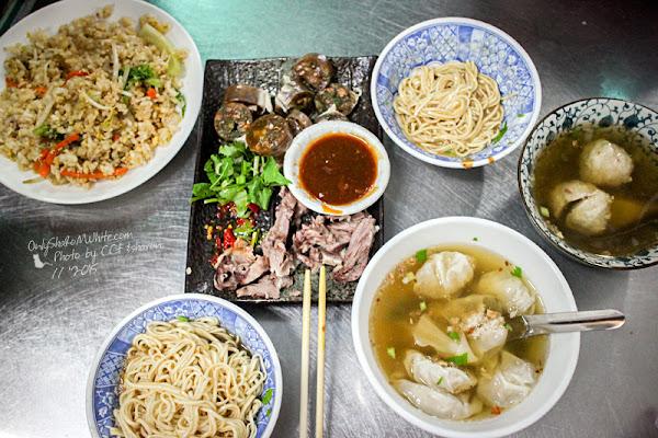 北館市場隱藏版美食.一香飲食店麻醬麵、薄皮餛飩 & 四海居小吃部西魯肉