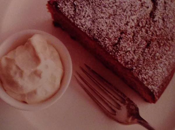 Fresh Ginger Cake With Golden Ginger Whipped Cream Recipe