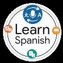 Learn Spanish Language by Fast Spanish Translator icon
