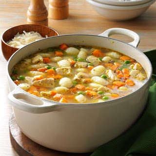 Turkey Gnocchi Soup