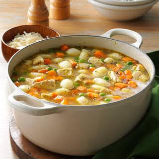 Turkey Gnocchi Soup.