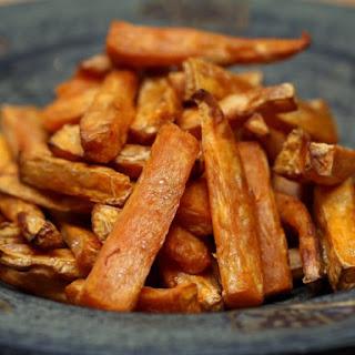 Spicy Sweet Potato Oven Fries