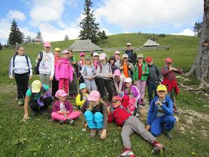 Photo: Gojška planina in prve pastirske bajte.