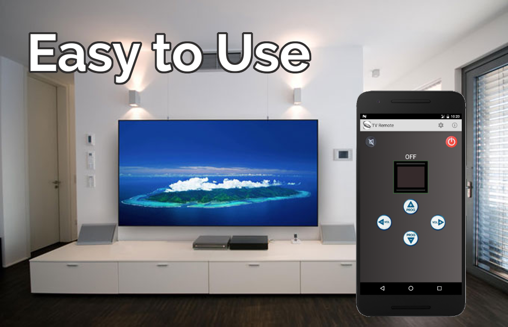 Easy Universal TV Remote- screenshot