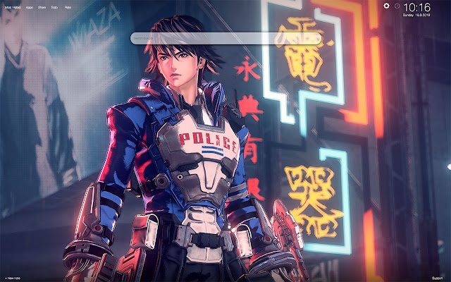 Astral Chain Wallpapers and Tab Theme