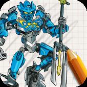 Draw Lego Bionicle