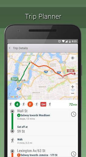 MyTransit NYC Subway, Bus, Rail  screenshots 10
