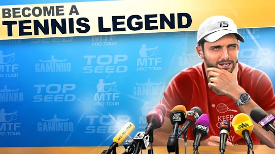 TOP SEED Tennis Mod Apk 2.53.2 (Unlimited Cash/Gold) 5