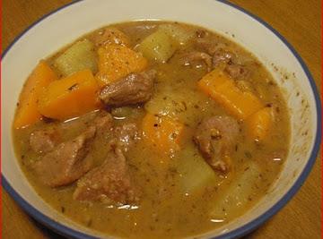 Mom's Pork Stew Recipe