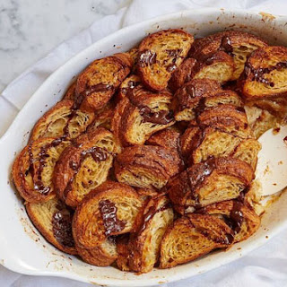 Bourbon Croissant Bread Pudding Recipes