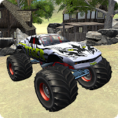 Monster Truck Offroad Hill Climb