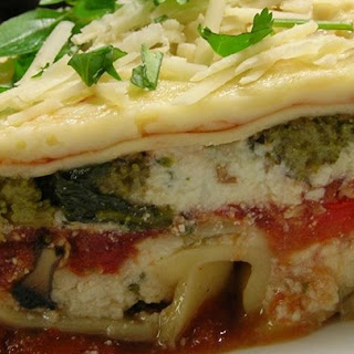 Hearty Vegetable Lasagna.