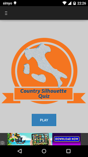 Country Silhouette Quiz|玩拼字App免費|玩APPs