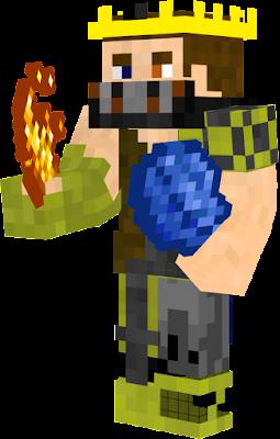 Hij bezit 2 elementen water en vuur hij was voor de transformatie gek op natuur en hij was heel aardig daarna werd hij gemeen en verwoeste de natuur en nog meer