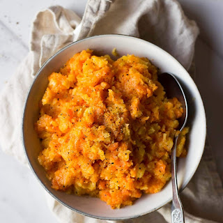 Carrot and Swede Mash.