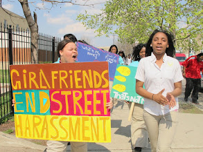 Photo: 3.21.12 A Long Walk Home GirlFriends march around their school in Chicago, IL, USA