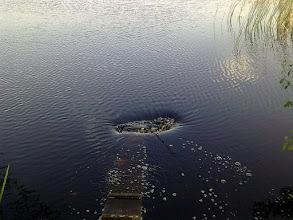 Photo: dziura w wodzie:)
