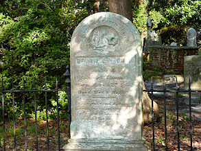 Photo: Bettie Elizabeth (Bell) Thomas 1852-1881 wife of Samuel Thomas (1845-1932) Old Burying Ground - Beaufort, NC Photo courtesy David Sobotta