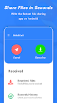 screenshot of SHAREall  - Share Files & Send Anywhere